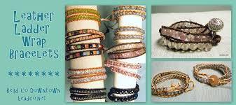 leather bracelet styles images Leather ladder wrap bracelet class sioux falls arts council jpg