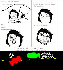 Sneeze Meme - what happens when i sneeze when im driving rage comics know