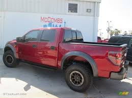 Ford Raptor Red - 2014 ruby red ford f150 svt raptor supercrew 4x4 92789237 photo