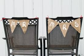 wedding chair signs diy wedding chair signs do more for less