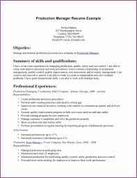 Director Of Ecommerce Resume Television Production Manager Cover Letter