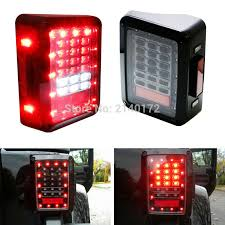 jeep jk led tail light bulb buy pmma lens tail light and get free shipping on aliexpress com