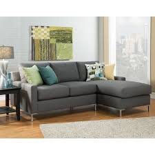 Sofa Leather And Fabric Combined by Dark Brown Leather Sectional Sofa With Ruched Armrest Combined