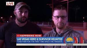 las vegas shooting survivor reunited with man who saved him ny