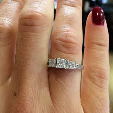3000 dollar engagement ring 1 10ctw princess cut engagement ring designers diamonds