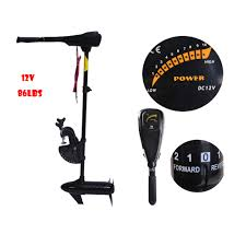 24v 86lbs boat motor hydro force electric outboard engine trolling