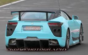 lexus lfa delivery spied wild teal lexus lfa seen on the u0027ring is it a special edition