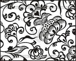 floral ornament vector clip