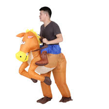 authentic halloween costumes for adults authentic inflatable blow up halloween costume cowboy rider