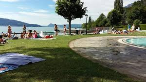 chambre d hote menthon st bernard lac d annecy photo de plage municipale de menthon bernard