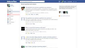 new free theme facebook style theme question2answer q u0026a