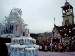 everland theme park south korea winter parade show
