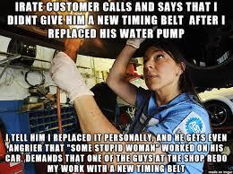 Car Repair Meme - my girlfriend s dad owns a car repair shop and she s been working