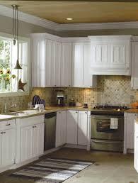 Kitchen With Glass Tile Backsplash Kitchen Kitchen Backsplash Ideas With White Cabinets Hbe Tile For