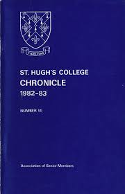 st hugh u0027s college oxford chronicle 1982 1983 by st hugh u0027s