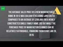 cost of manufactured homes how much does it cost to build a manufactured home youtube