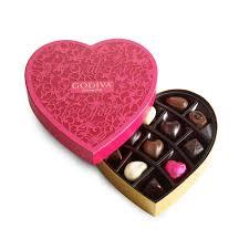 valentines chocolates godiva chocolatier s day chocolate heart