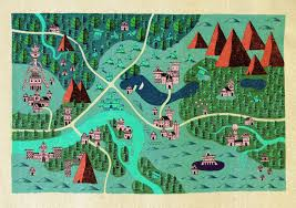 Map Of Burbank Ca These Wonderful Fantasy Maps Show A Perfect Balance Between