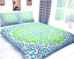 Indian Print Duvet Bedroom Boho Bedspread Indian Duvet Cover Hippie Duvet Covers