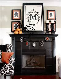 decoration de halloween 23 best ideas for halloween decorations fireplace and mantel