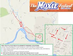 Map Note Map U0026 Directions The Moxie Festival In Lisbon Maine