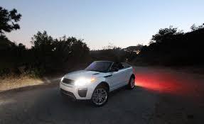 2017 land rover range rover evoque 2017 land rover range rover evoque convertible night photos