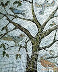 Mosaic Patterns Tree Mosaic Patterns Pictures Mandalas Lynks - Wall mosaic designs