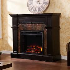 shop boston loft furnishings 45 5 in w 4700 btu ebony wood veneer