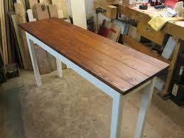 beistelltische tisch arbeitstisch küchentisch altholz ein