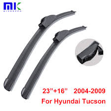 hyundai tucson rear wiper blade combo front rear wiper blades for hyundai tucson 2004 2009
