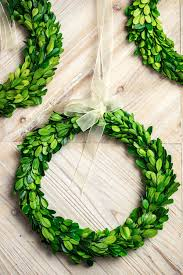 artificial boxwood wreath wreath 10 preserved boxwood