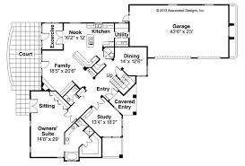 single level house plans mediterranean house plans pasadena 11 140 associated