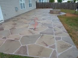 concrete patio design with fire pit backyard concrete fire pits
