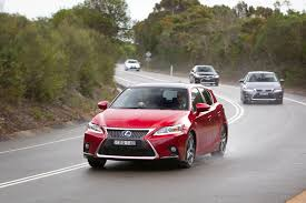 lexus used car australia lexus banks on ct200h goauto