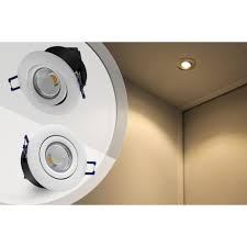 Recessed Halogen Ceiling Lights 5w Cob Led Recessed Lighting Fixture 2800k Warm White Led