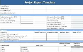 project status report template in excel project management report project management report milestones