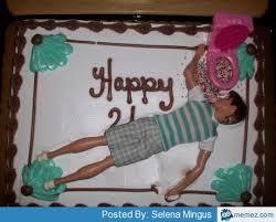 Meme Birthday Cake - happy 21st birthday cake for guys