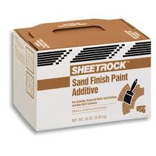 Home Depot Sand Box Sheetrock Brand 30 Oz Sand Finish Paint Additive Carton 380300