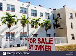 miami beach florida real estate land empty lot development sign