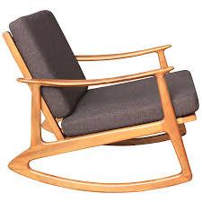 Mid Century Modern Armchairs Mid Century Modern Rocking Chair U2013 Plushemisphere