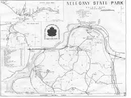 State Park Map by Directions U0026 Park Map U2013 Allegany Nordic