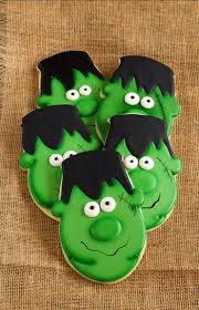 How To Make Halloween Sugar Cookies by Easy Frankenstein Cookies The Bearfoot Baker