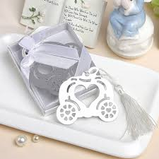 cinderella party favors cinderella pumpkin carriage bookmark wedding favors and gifts