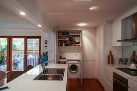 laundry in kitchen laundry in your kitchen quantum build sustainable pals