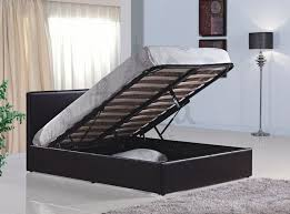 leather bed frames with storage dostoros net