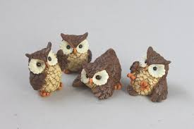 amanoco rakuten global market figurines made of resin mini owl
