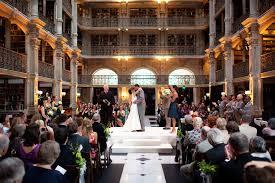 Wedding Venues In Baltimore Library Wedding Ceremony Weddingbee