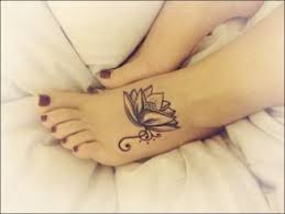 foot tattoo ideas for girls archives dzine mag