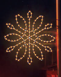 Commercial Christmas Decorations Snowflakes by Large Pole Mounted Decorations For Christmas Temple Display