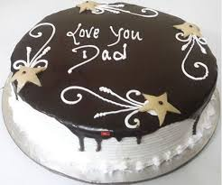 half kg love you dad cake